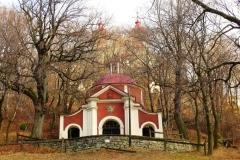 Kalvária Banská Štiavnica - Stredný kostol (Sväté schody)