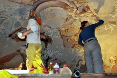 Reštaurovanie fresiek Dolného kostola