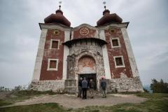Horný kostol pred rekonštrukciou
