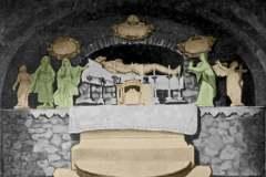 Historická fotka Božieho hrobu.