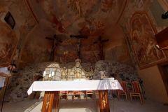 Interiér Horného kostola