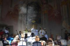 Sv. omša v Dolnom Kostole (2013)