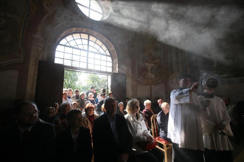 sv. omša pri príležitosti obnovenia Dolného kostola