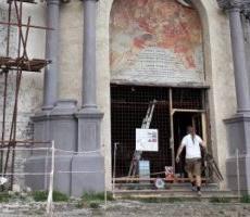 Obnova Horného kostola postupuje