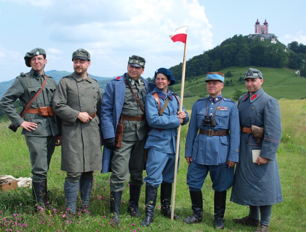 ČS legionári na Kalvárii - 100. výročie bojov
