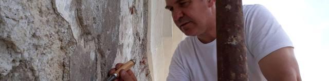 Reštaurovanie fresiek v kostole Sväté schody a kaplnke Boží hrob